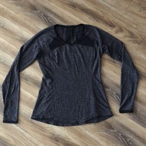 Lululemon Pace Pusher Long Sleeve Top